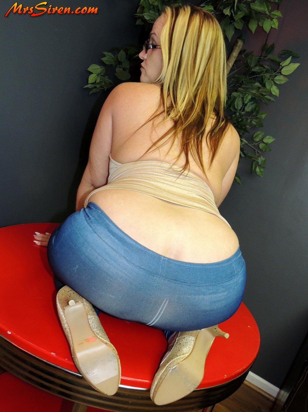 Phat asses in jeans