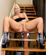 Lucky PAWG Fucked on the Stairs